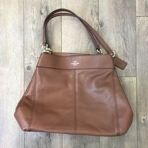 Coach Brown Hobo Shoulder Bag
